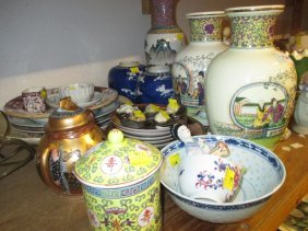 Quantity Of Various Oriental And Other Ceramics