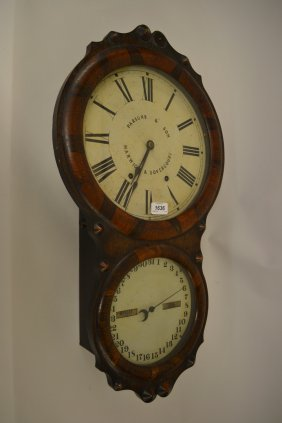 Unusual 19th Century American Rosewood Cased Double