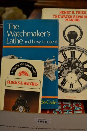 Small Collection Of Horology Related Books