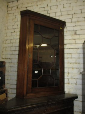 Similar George Iii Mahogany And Line Hanging Corner