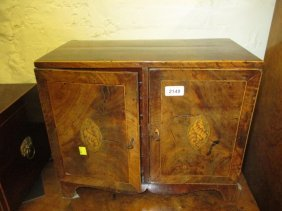 George Iii Mahogany And Inlaid Table Top Collector's