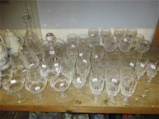 Waterford crystal Colleen pattern part suite of