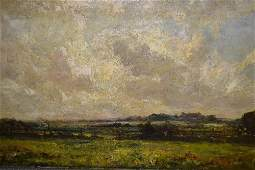 John Falconer Slater 19th Century unframed oil on