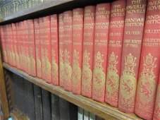 Group of thirty one volumes, Walter Scott, The Waverley
