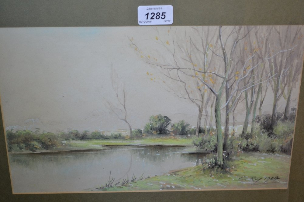 G. Ray, group of four various watercolours, landscapes,