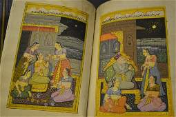 Indian school a book containing ten gouache paintings