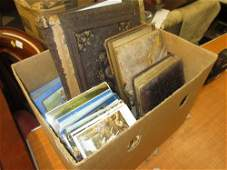 Box containing a quantity of various late 19th and 20th