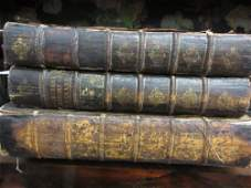 Thomas Mortimer, two 18th Century volumes, ' A New