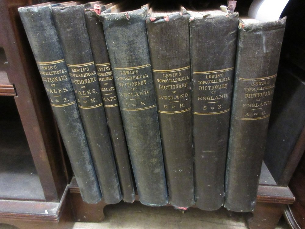 Four volumes, ' Lewis's Topographical Dictionary of