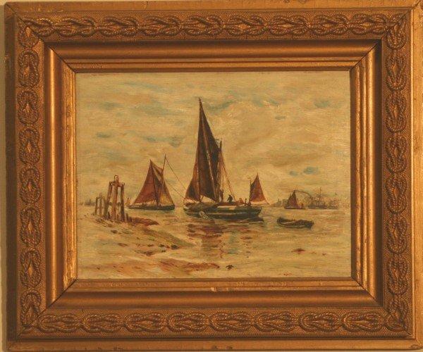 7: Dutch Sail Boat