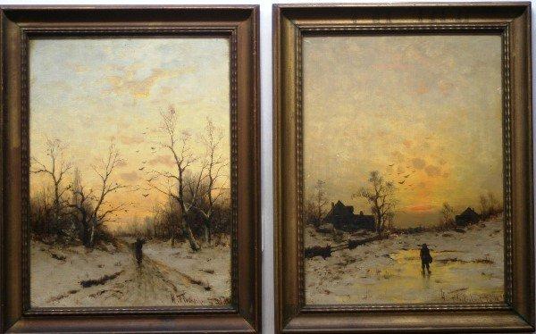 12:  Heinz Flockenhaus,  Morning and Evening