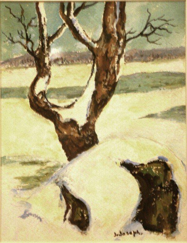 13: Julian Joseph, Tree in Winter