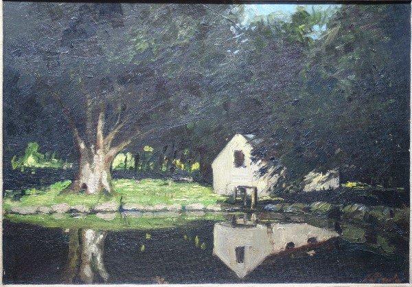 17: Yale Art Professor, Connecticut Landscape
