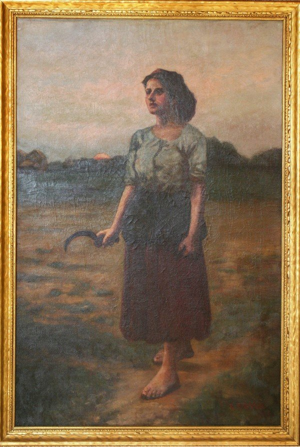 18: F. Boyer, Peasant Girl