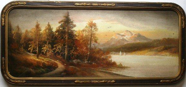 19: William Henry Chandler, Hudson River Landscape