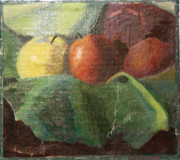 22: John Sloan, Still life with Apples