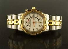 147: Man's Seiko Kinetic Quartz Cal 5M23 diver's wrist