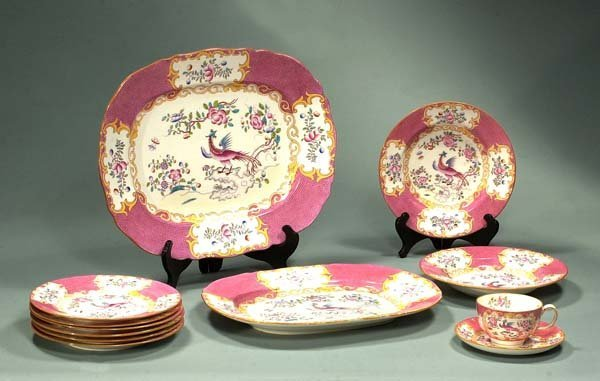 2: Group of 12 pieces of Minton china with pheasant and