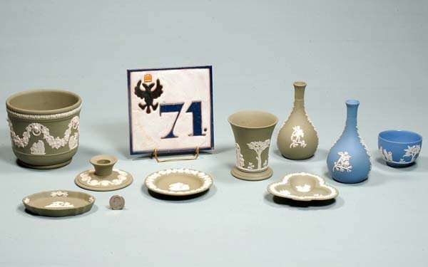 11: Collection of 10 pieces of Wedgwood, c.1920