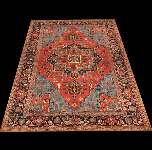 "276: 9'6"" x 13'6"" Serapi rug"
