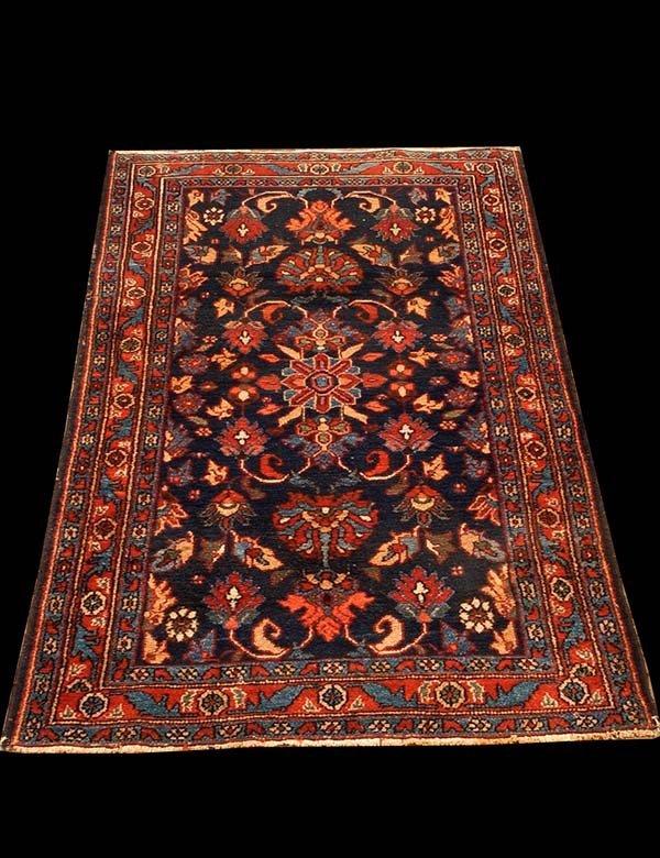 "437: 3'6"" x 5'11"" oriental rug"