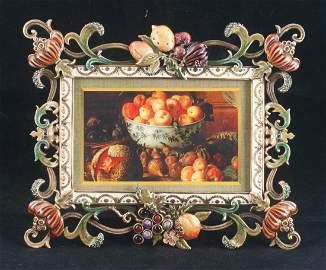 Jay Strongwater enamel frame