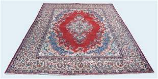 """8'6"""" x 12' Sarouk rug"""