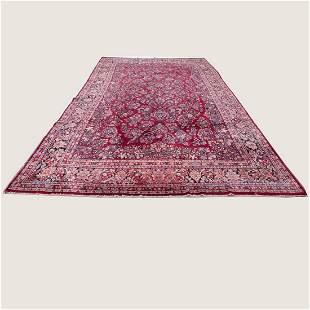 """11'6"""" x 19' Sarouk rug"""