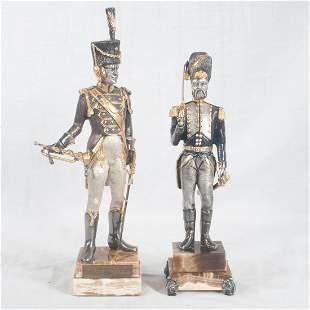 Giuseppe Vasari, two warriors