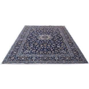 "10'3"" x 14' Kashan rug"
