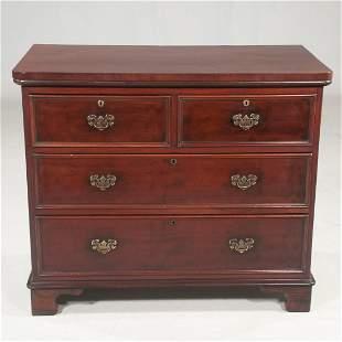 T. Willson, of Queen Street, London, mahogany chest