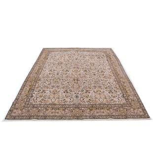 """9' x 11'3"""" Tabriz rug"""