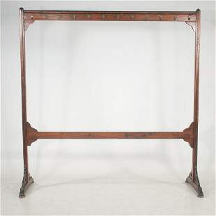 English Arts & Crafts style baltic pine double sided