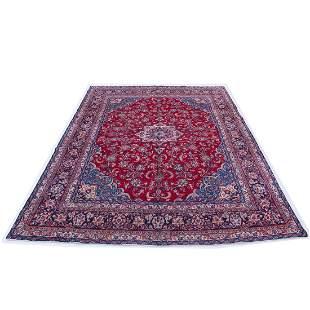 """8'7"""" x 11'10"""" Sarouk rug"""