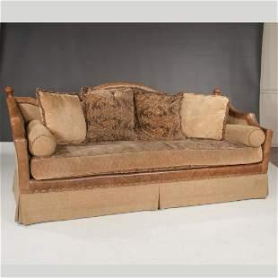 Century upholstered sofa