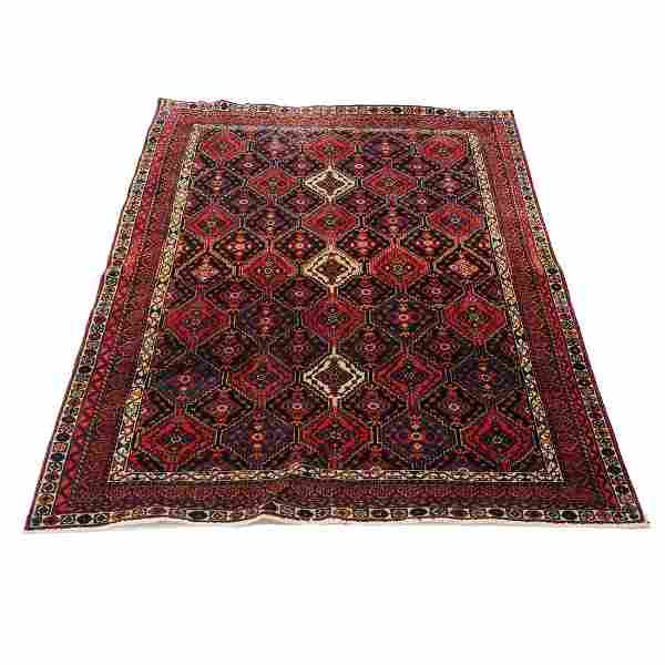 "5' x 8'1"" Afshar rug"