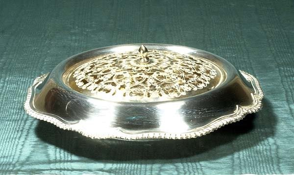 """1013: Black, Starr and Frost"""" 14"""" sterling silver bowl"""