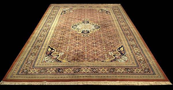 "1302: 10'2"" x 15'7' oriental rug"