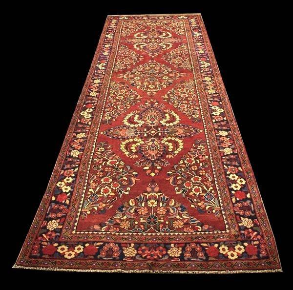 1077: 5' x 16' Malayer entry rug