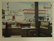 """Ralph Goings Lithograph """"Kentucky Fried Chicken"""""""