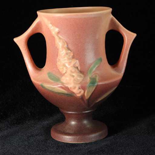 Roseville Foxglove Vase 161 6