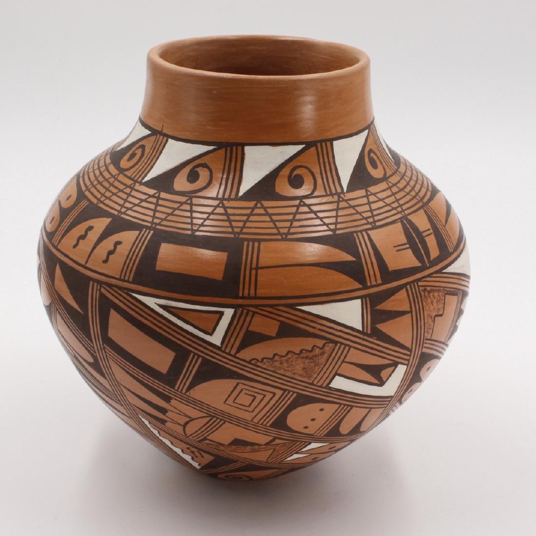 Hopi Pueblo, Roberta Youvella Silas Vase