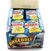 Cards, 1989 Topps Gum Wrap, Box