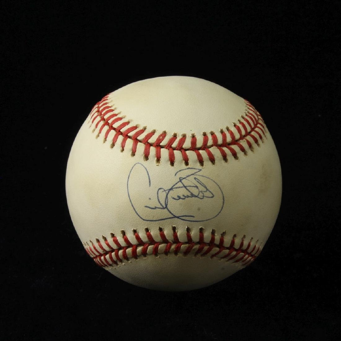 Autographed Baseball with CoA, Cecil Fielder