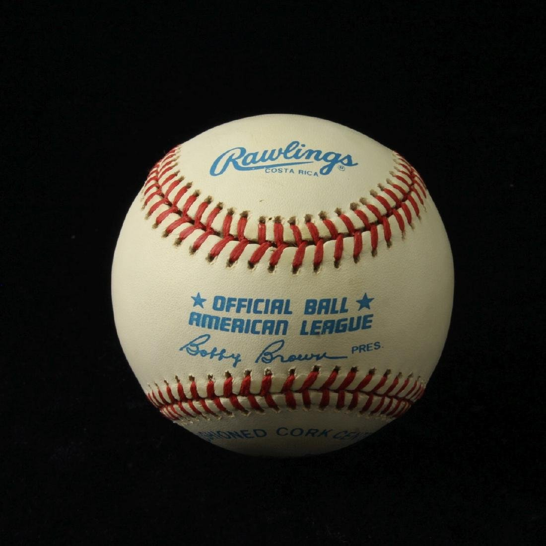 Autographed Baseball with CoA, Cecil Fielder - 2