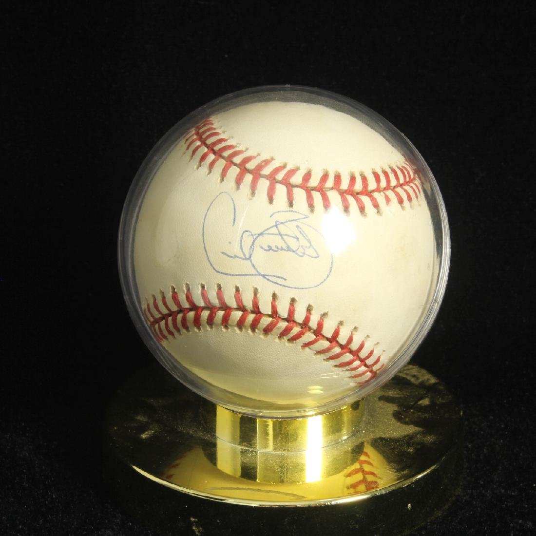 Autographed Baseball with CoA, Cecil Fielder - 4