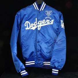 C. 1989 Dodger Jacket, Frank Sinatra Special Event, Sz