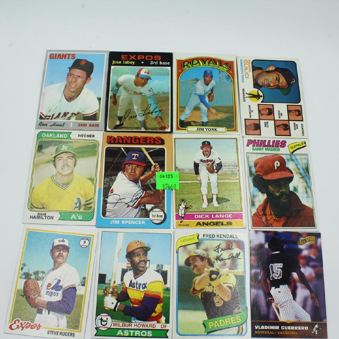 Cards, Baseball, Misc 70s-80s