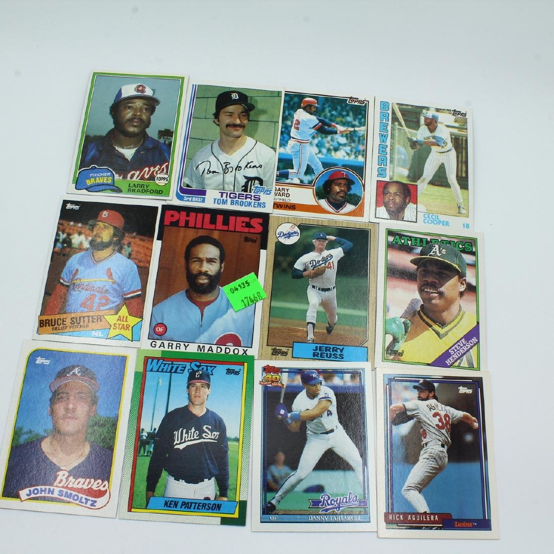 Cards, Baseball, Misc 70s-80s - 3