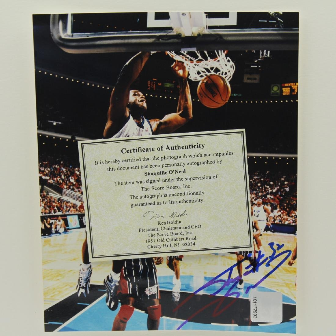 Photos, Shaquille O'Neal, Autographed, Incl. CoA - 2